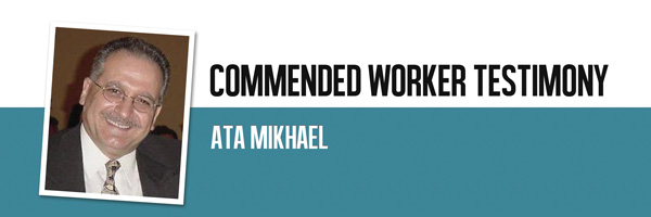 Commended Worker - Ata Mikhael